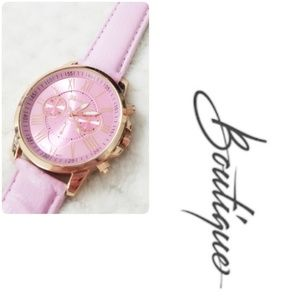 Brand New Pink and Gold Watch